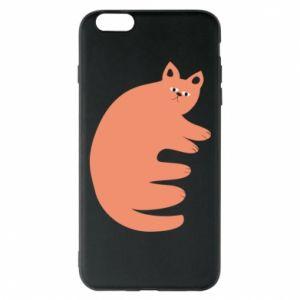 Etui na iPhone 6 Plus/6S Plus Strange ginger cat