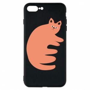 Etui do iPhone 7 Plus Strange ginger cat