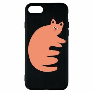 Etui na iPhone 8 Strange ginger cat