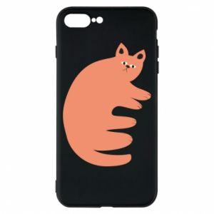Etui na iPhone 8 Plus Strange ginger cat