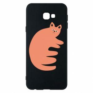 Etui na Samsung J4 Plus 2018 Strange ginger cat