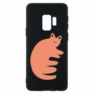 Etui na Samsung S9 Strange ginger cat