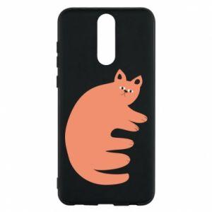 Etui na Huawei Mate 10 Lite Strange ginger cat