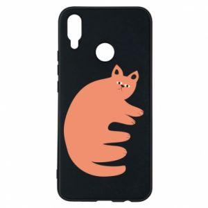 Etui na Huawei P Smart Plus Strange ginger cat