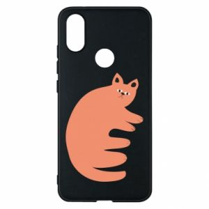 Etui na Xiaomi Mi A2 Strange ginger cat