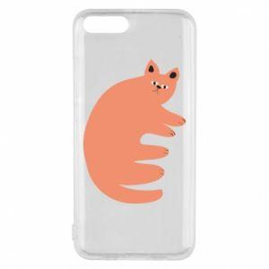 Etui na Xiaomi Mi6 Strange ginger cat