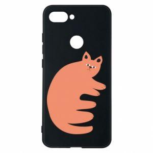Etui na Xiaomi Mi8 Lite Strange ginger cat