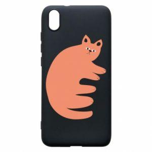 Etui na Xiaomi Redmi 7A Strange ginger cat