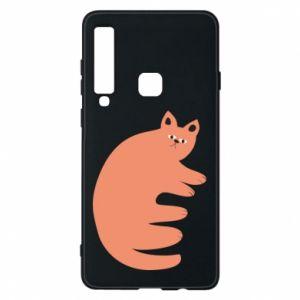 Etui na Samsung A9 2018 Strange ginger cat