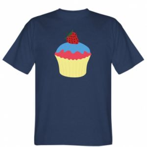 Koszulka męska Strawberry Cupcake