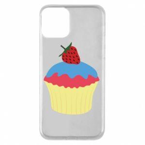 Etui na iPhone 11 Strawberry Cupcake