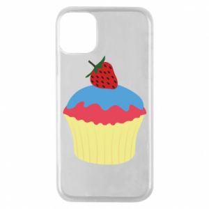 Etui na iPhone 11 Pro Strawberry Cupcake