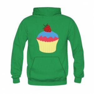 Bluza z kapturem dziecięca Strawberry Cupcake