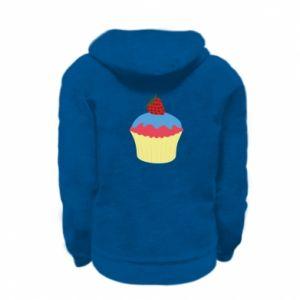 Bluza na zamek dziecięca Strawberry Cupcake