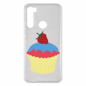 Etui na Xiaomi Redmi Note 8 Strawberry Cupcake
