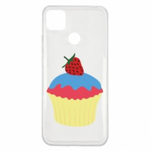 Etui na Xiaomi Redmi 9c Strawberry Cupcake