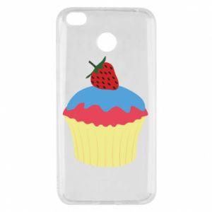 Etui na Xiaomi Redmi 4X Strawberry Cupcake