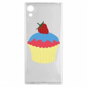 Etui na Sony Xperia XA1 Strawberry Cupcake