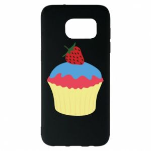 Etui na Samsung S7 EDGE Strawberry Cupcake