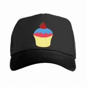 Czapka trucker Strawberry Cupcake