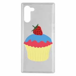 Etui na Samsung Note 10 Strawberry Cupcake