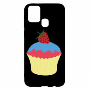 Etui na Samsung M31 Strawberry Cupcake