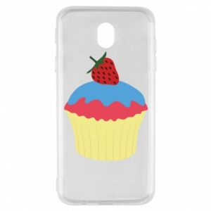 Etui na Samsung J7 2017 Strawberry Cupcake