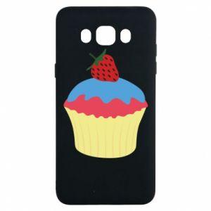 Etui na Samsung J7 2016 Strawberry Cupcake