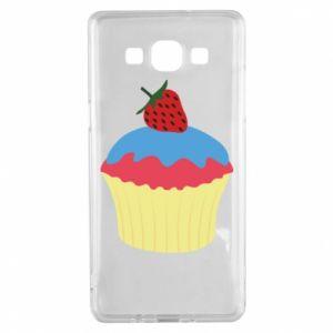 Etui na Samsung A5 2015 Strawberry Cupcake
