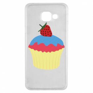 Etui na Samsung A3 2016 Strawberry Cupcake