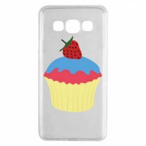 Etui na Samsung A3 2015 Strawberry Cupcake