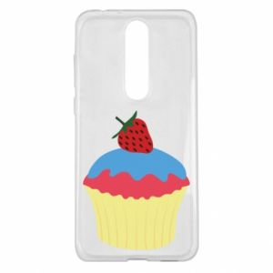 Etui na Nokia 5.1 Plus Strawberry Cupcake