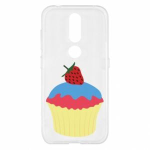 Etui na Nokia 4.2 Strawberry Cupcake