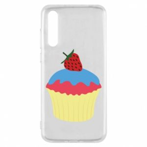 Etui na Huawei P20 Pro Strawberry Cupcake