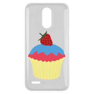 Etui na Lg K10 2017 Strawberry Cupcake