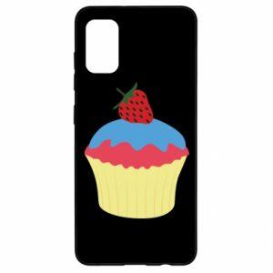 Etui na Samsung A41 Strawberry Cupcake