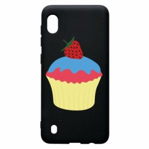 Etui na Samsung A10 Strawberry Cupcake