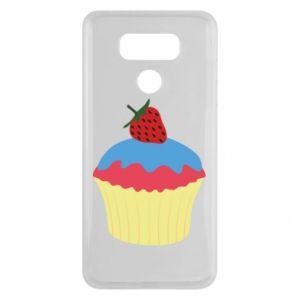 Etui na LG G6 Strawberry Cupcake