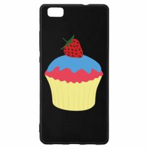 Etui na Huawei P 8 Lite Strawberry Cupcake