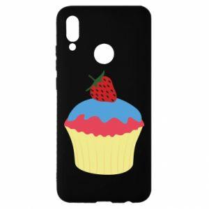 Etui na Huawei P Smart 2019 Strawberry Cupcake