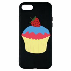 Etui na iPhone SE 2020 Strawberry Cupcake