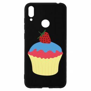 Etui na Huawei Y7 2019 Strawberry Cupcake