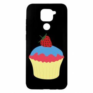 Etui na Xiaomi Redmi Note 9/Redmi 10X Strawberry Cupcake