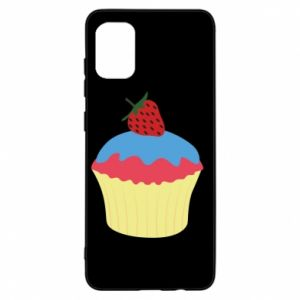 Etui na Samsung A31 Strawberry Cupcake