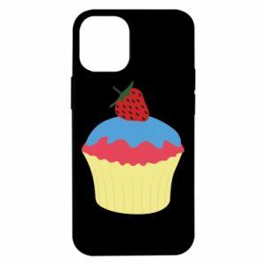 Etui na iPhone 12 Mini Strawberry Cupcake