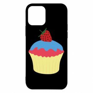 Etui na iPhone 12/12 Pro Strawberry Cupcake