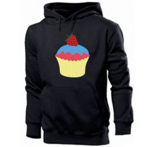 Bluza z kapturem męska Strawberry Cupcake