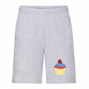 Szorty męskie Strawberry Cupcake