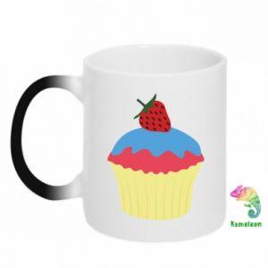Kubek-magiczny Strawberry Cupcake