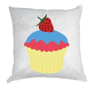 Poduszka Strawberry Cupcake